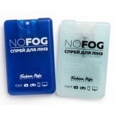 Набор спрей для очистки линз NO FOG 20мл + салфетка из микрофибры