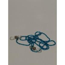 Шнурок цепочка синяя