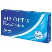 AIR OPTIX Plus HydraGlyde  (3шт/уп)