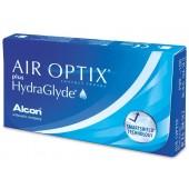 AIR OPTIX Plus HydraGlyde  (3шт/уп) +1 в подарок